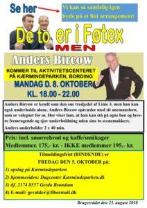 Musikalsk foredrag – Anders Bircow